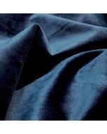 Blauw Pauw fluweel grodijn