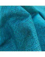 Blauw lichtdicht vouwgordijn