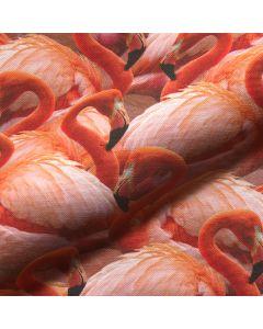 flamingoprint, flamingogordijnen