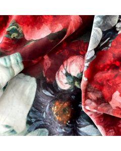 Bloemen op Velours