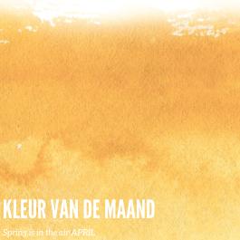 KLEUR VAN DE MAAND APRIL
